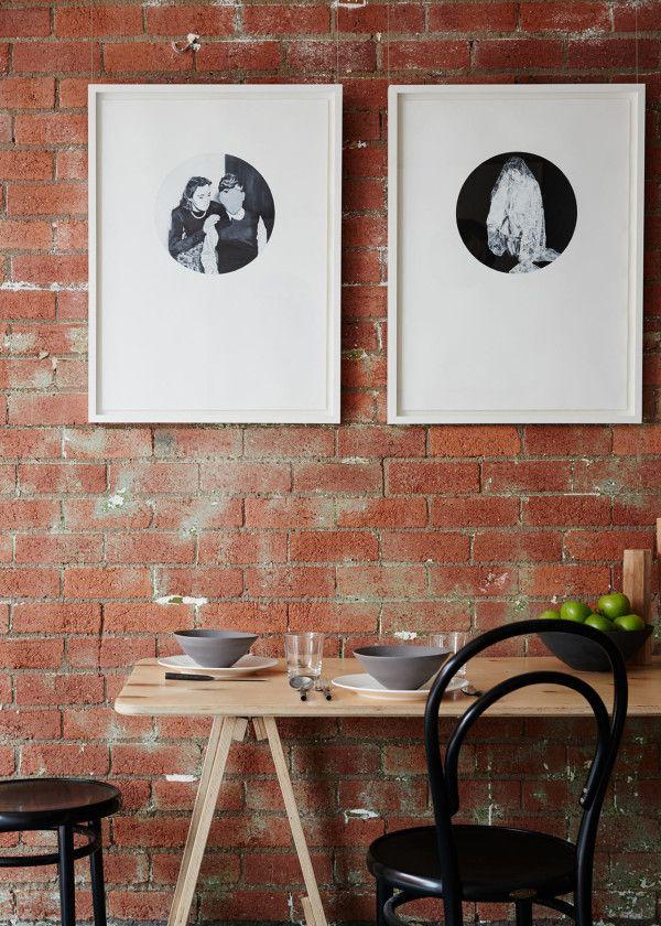 LOVE the circular mats! [A Light Filled Shared Workspace by Mäike Design Studio -via design milk ]