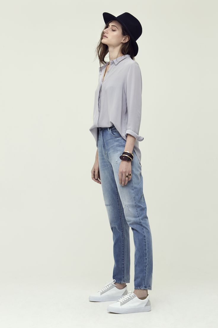 Silk Homme Shirt + Lola Jeans - Neuw Denim