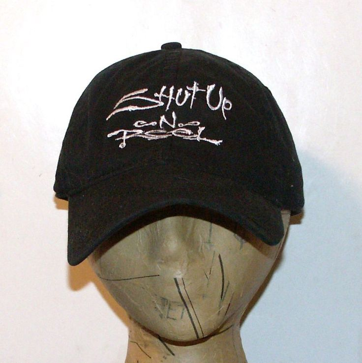 salt life cap shut up reel black hat adjustable strap cotton baseball