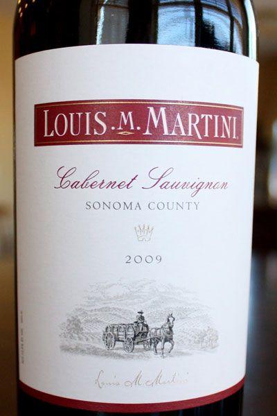 Louis Martini Cabernet Sauvignon Sonoma | http://www.snooth.com | #wine