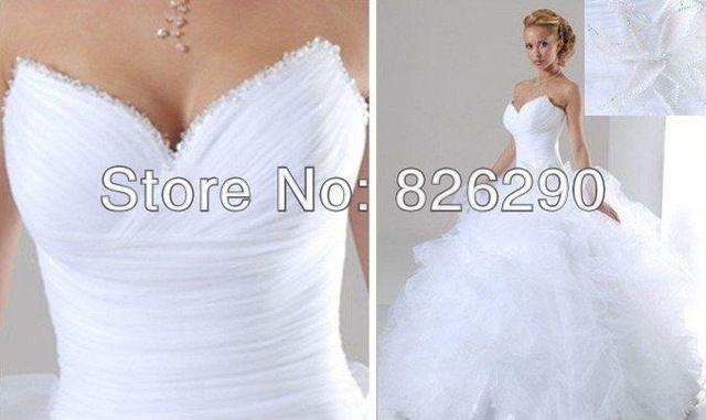 Listos para nave envío gratis material organza sweetheartt piso escote con cuentas vestido de fiesta largo plisado nuevos vestidos boda baratos