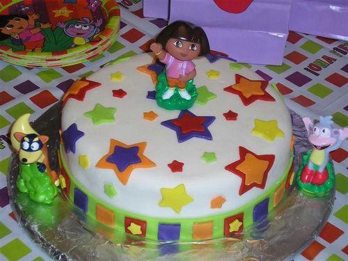 Best Dora The Explorer Party Images On Pinterest Birthday - Dora birthday cake toppers