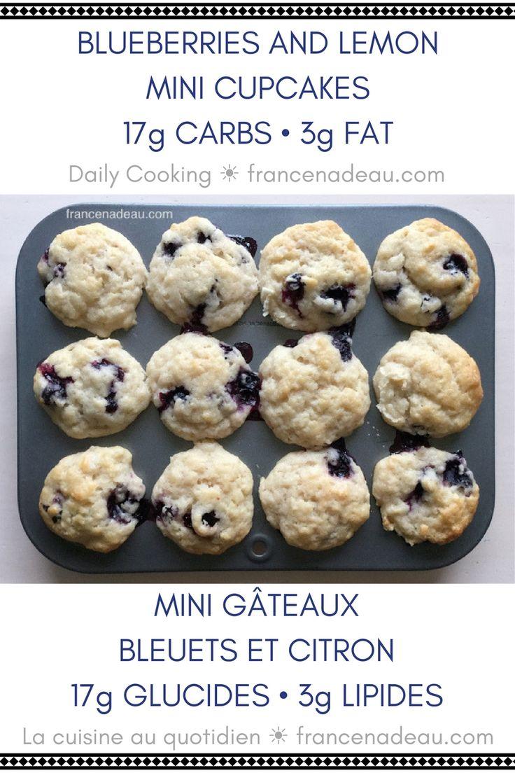 Blueberry and Lemon Cupcakes (Daily Cooking) - francenadeau.com