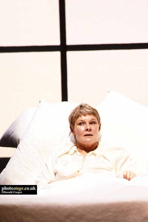 1982 Judi Dench As Deborah In A KIND OF ALASKA Part Of OTHER PLACES By Harold Pinter Directed Peter Hall At