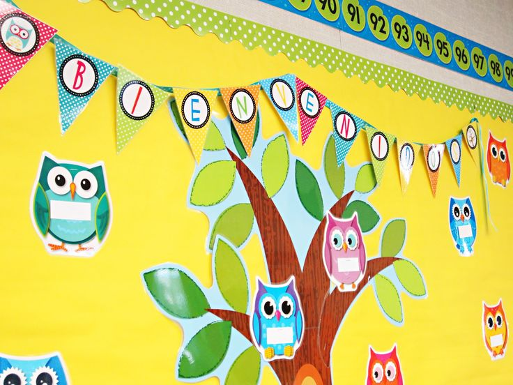 owl classroom theme | Here are some pictures...