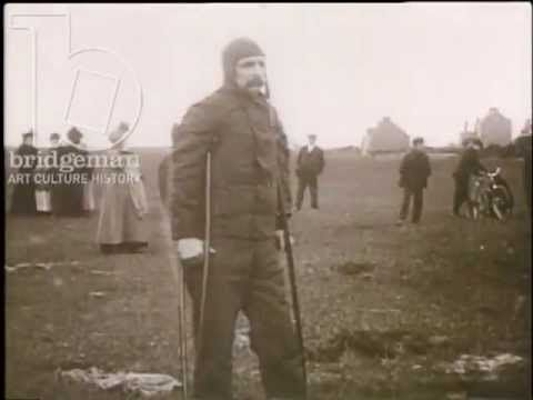 The Glorious Flight ▶ Clip of the Week: Louis Blériot mans the first flight over the English Channel, 1909 - YouTube