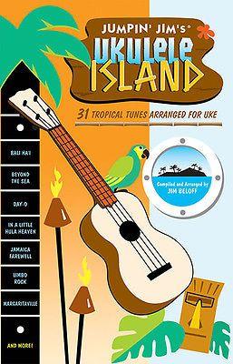 Jumpin Jim Ukulele Island Uke Sheet Music 31 Songs Sambas Calypsos Tiki Book NEW