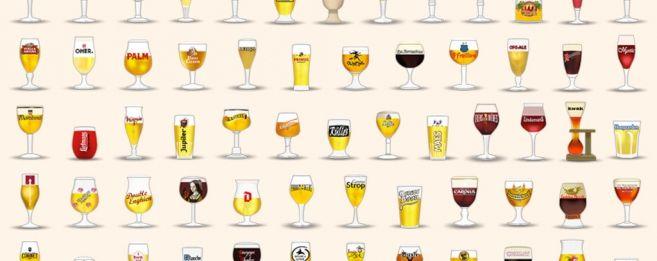 """A chaque bière une émoticône -application """"Belgian Beeremojis"""" est gratuite et disponible sur iOS et Android"""