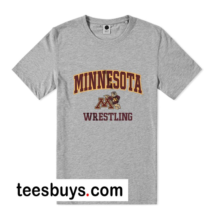 America University of Minnesota Wrestling T-Shirt from teesbuys.com This t-shirt is Made To Order, one by one printed so we can control the quality.