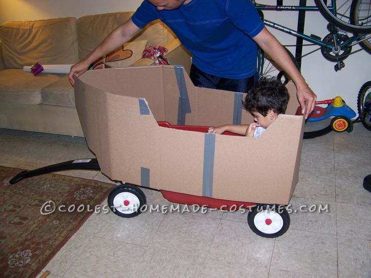 homemade pirate costume | How to Turn a Child's Wagon Into a Pirate Ship for Halloween