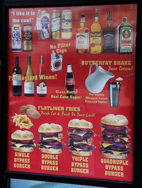 Heart Attack Grill - Fremont street, Las Vegas