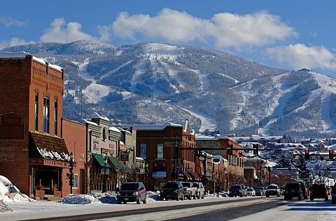 Steamboat Springs, Colorado  Cowboy Town USA Beautiful in winter and in summer.
