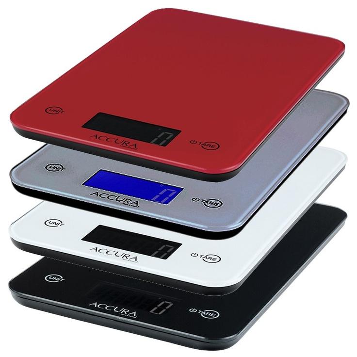 digital kitchen scales.