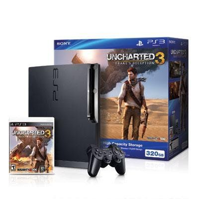 PS3 320GB Uncharted 3 Bundle - #games