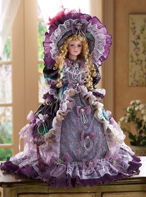 Romantic Victorian Collectible Doll
