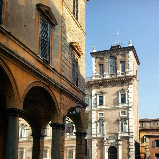 Scorcio. Accademia Militare. #Modena Foto di Alice Debbi