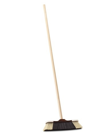 Tri Color Broom Spring Cleaning Accessories Broom