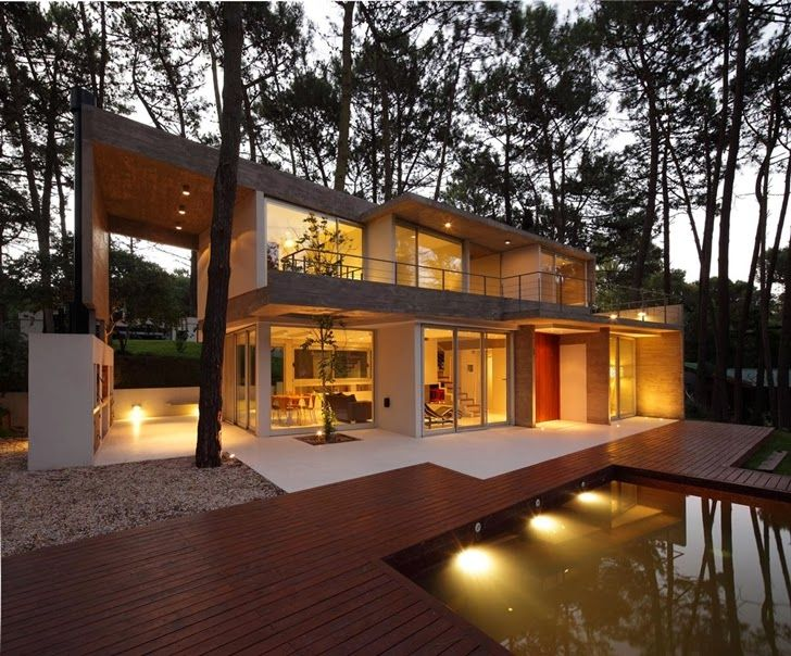 modern house sydney australia dusk lighting. world of architecture modern vacation house in caril argentina worldofarchi sydney australia dusk lighting