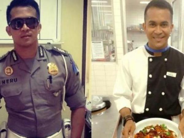 Brigadir Heru, Polisi Ganteng yang Piawai Memasak