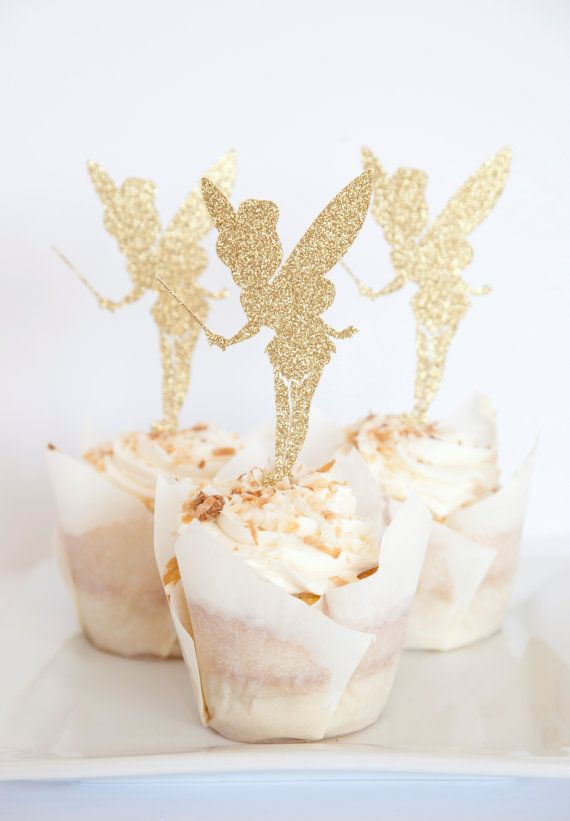 Fairy Party Cupcake Toppers set of 18 by MelindaBryantPhoto