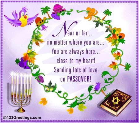 Send lots of #love to your #family on #Passover with this amazing #ecard…