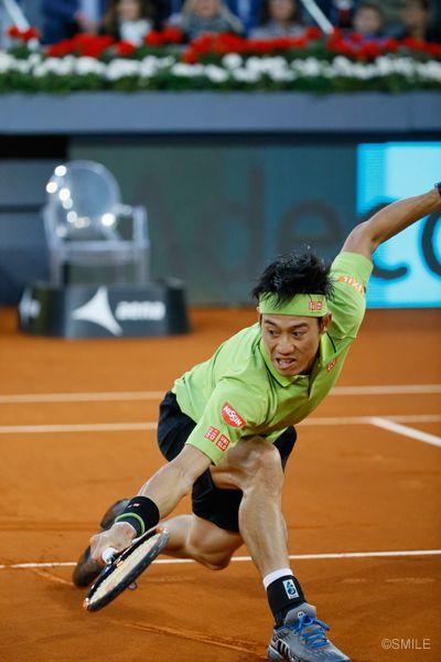 Kei Nishikori in Madrid 2016