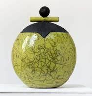 Sculptures en terre et bois flotté, Potier, Céramiste Raku