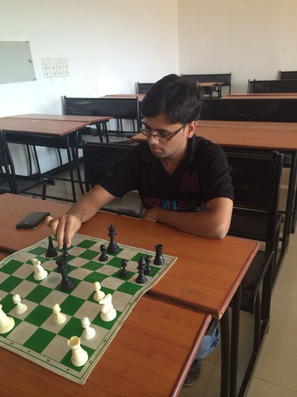 Eshwar's well thought move..