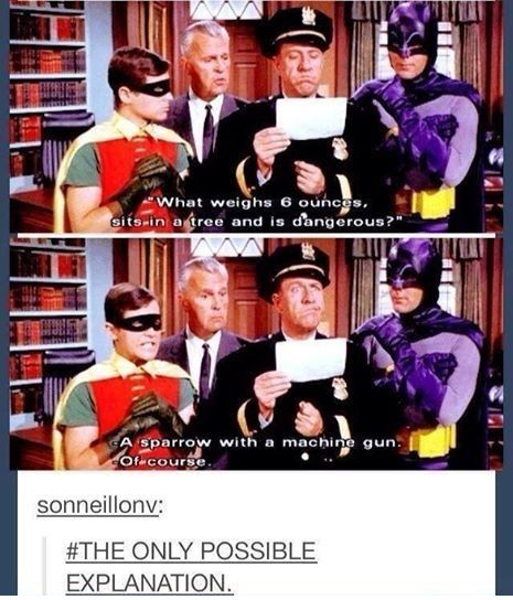 This is why old school Batman will forever be my favorite Batman.