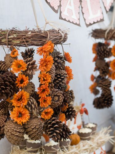 Thanksgiving Decorations Using Pine Cones : Best pinecone crafts images on pinterest christmas