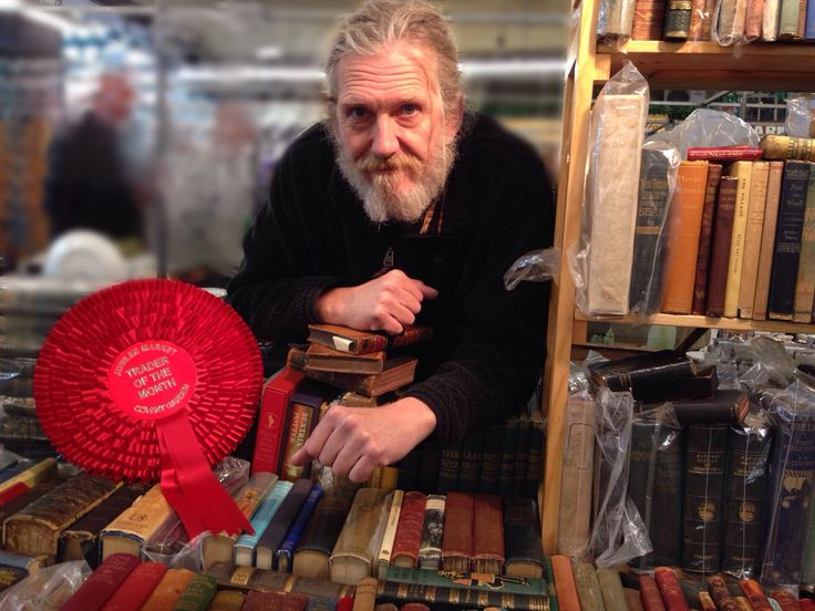 Ben the Books - Antiques Market - Trader of the Month December 2014