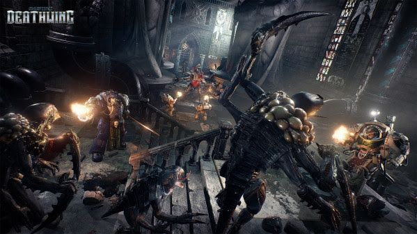 Space Hulk: Deathwing Enhanced Edition announced for Xbox One and PS4 You may already know of Space Hulk: Deathwing... whether that be because you're a Warhammer fan, or a PC gamer. Well, today a whole host of new gamers should be getting to know it as an Enhanced Edition of the game has been announced for consoles.  http://www.thexboxhub.com/space-hulk-deathwing-enhanced-edition-announced-xbox-one-ps4/