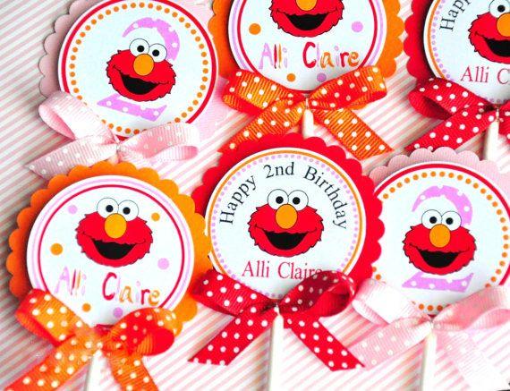 Elmo Elmo de La Magdalena Decoraciones de Fiesta de Cumpleaños Fiesta de Cumpleaños Decoraciones Del Partido Kids