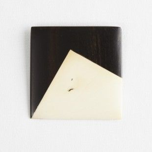 Darkroom Georges Larondelle Square Brooch, Cut Out