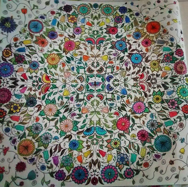 17 Best Images About Mandalas Flores Pequenas