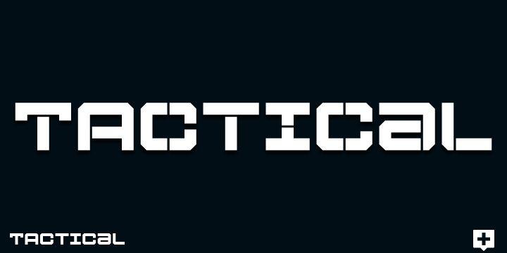 Tactical - Webfont & Desktop font « MyFonts