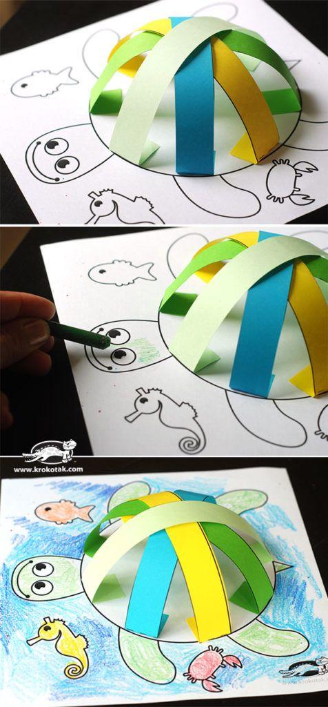 pyssel, pysseltips, pyssla, papper, papperspyssel, pyssla med papper, målarbild…