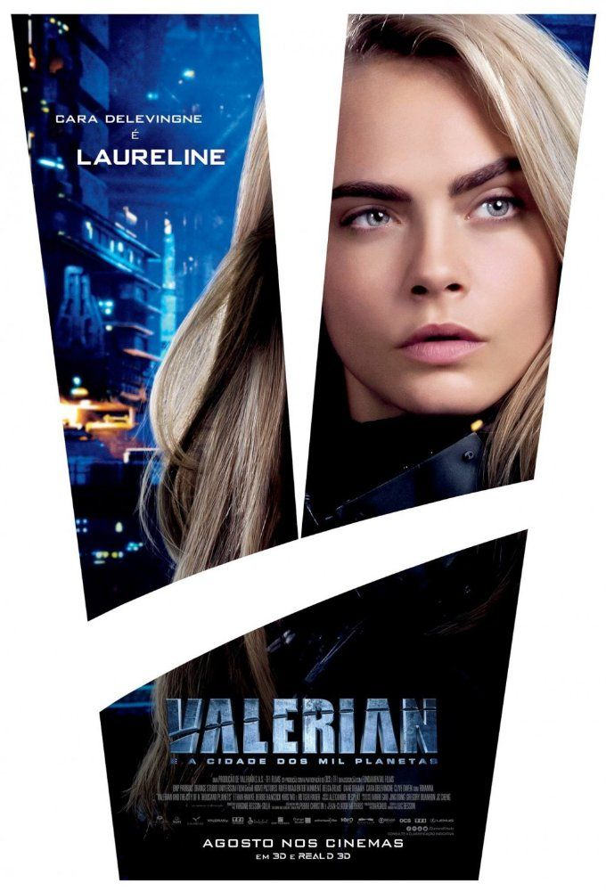 Valerian and the City of a Thousand Planets - Cara Delevingne as Sgt. Laureline