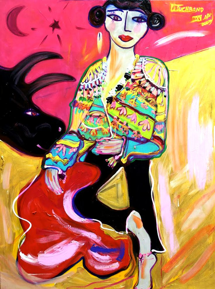 brazilian artist Isabelle Tuchband. And check out her dreamydiggs on The Selby.