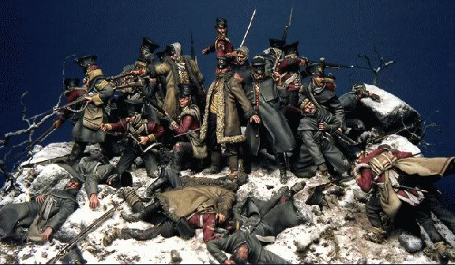 Last Stand at Gandamak(First Afghan War), this is the diorama which very much more ~Bill Horan to the attention of military modellers all over the world 30 years ago.