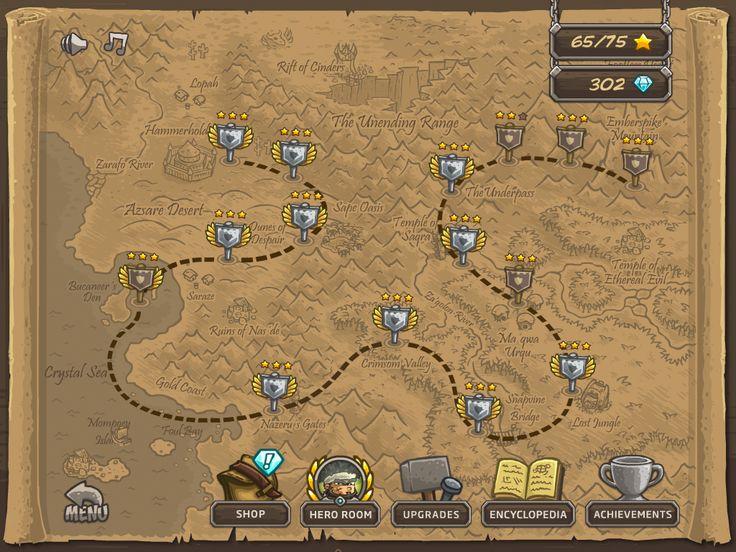 IMG_0021.PNG (1024×768) Kingdom rush world map