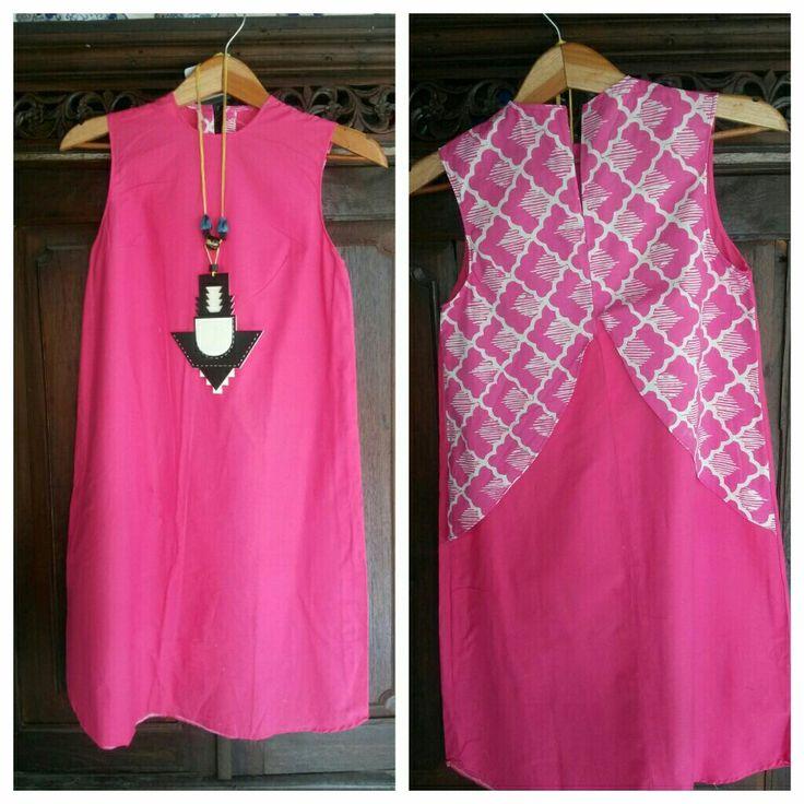 Cotton and batik dress