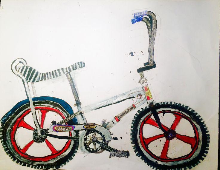 Banana seat bike.