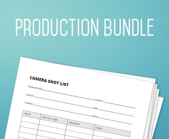 36 best Filmmaking Production Document Templates images on - sample production schedule template