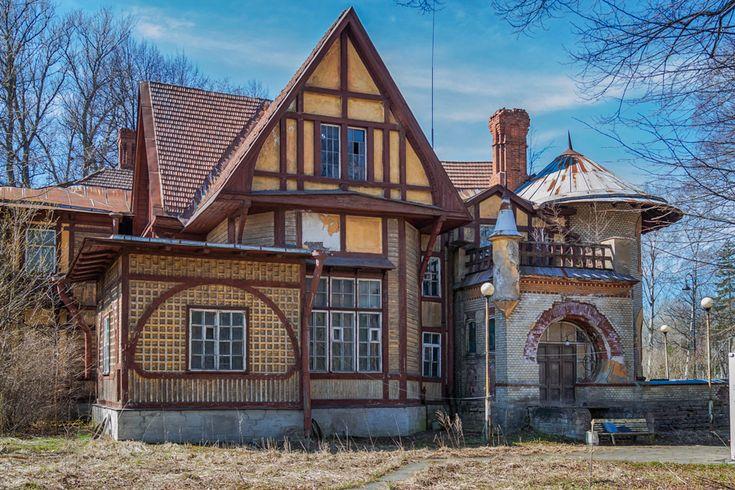 Пряничный  домик  для Ирэн Адлер: alkopona