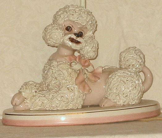 159 Best Vintage Poodle Figurines Images On Pinterest