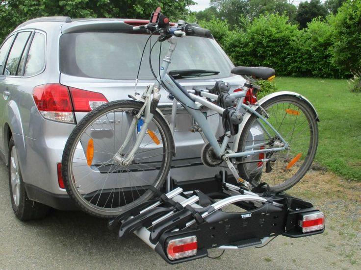 Porte-vélos Thule Euroway G2 923 compact et léger pour un usage quotidien (pour 3 vélos).Bras de fixation amovibles pour un montage aisé des vélos.Pédale de basculement pratique pour accéder facilement au coffre même avec les vélos fixés. Poignée de serrage réglable nécessitant une faible force de serrage avec une seule main pour un montage facile du porte-vélos. Boucles micro-clip avec sangles à serrage rapide pour une fixation rapide des roues. Verrouillage du porte-vélos sur la boule…