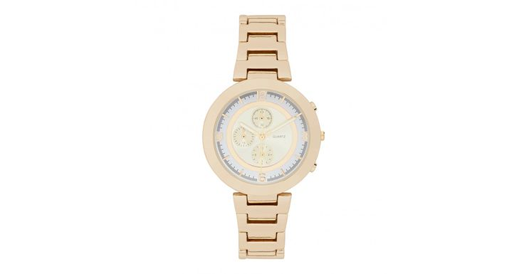 Charlotte Ring Face Watch from @forevernew , the ultimate must-have accessory to complete your look.  #watch #gold #accessories #forevernew