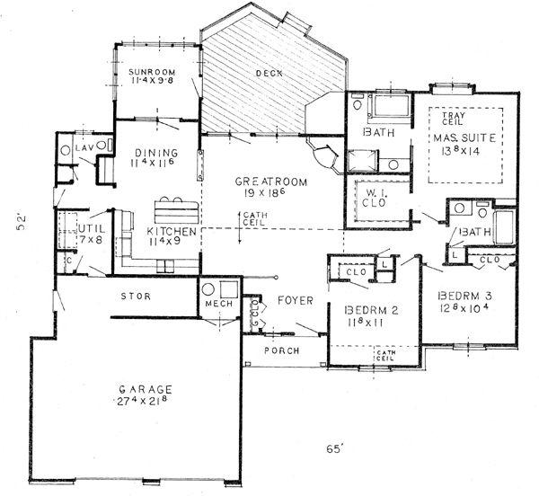 95 Best House Plans Images On Pinterest Floor Plans