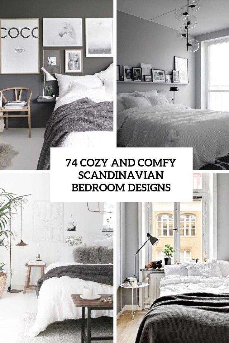 99 Awesome Scandinavian Bedroom Designs 2019 In 2020 Scandinavian Design Bedroom Scandinavian Bedroom Scandinavian Style Bedroom